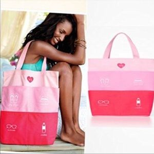 🆕 Victoria's Secret Beach Bag PINK